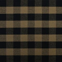 tavern check linen black