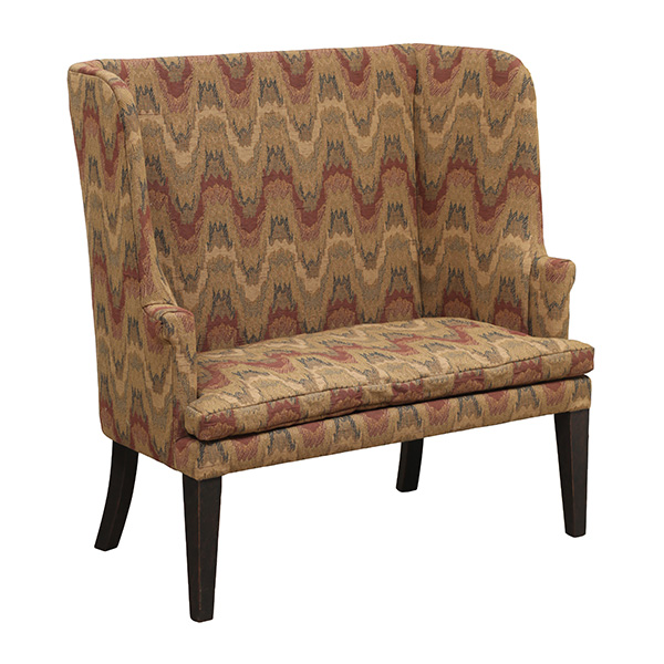 Early American And Country Furniture, Town And Country Primitive Upholstered Furniture
