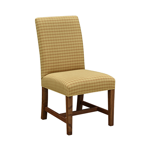 jlls lincoln low back straight top dining chair