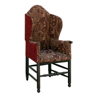 uc-mdw make-do wing chair Burgundy
