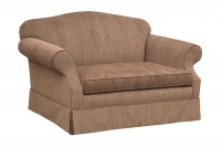 jsb62 stockbridge loveseat with optional skirt